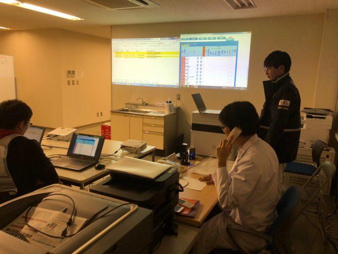 南多摩医療圏通信訓練(2019.02.05)
